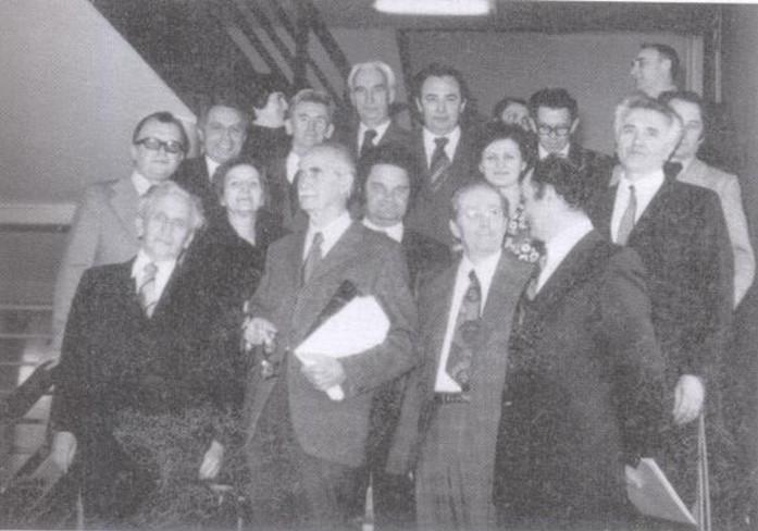 Članovi Odsjeka za hemiju - septembar 1979. god